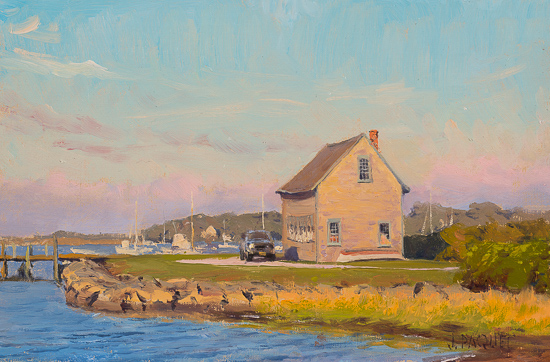 "Crisp Morning Chatham 8"" x 12"" - $3300"