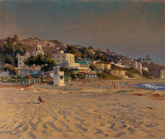 Golden-Hour-Main-Beach-20x24