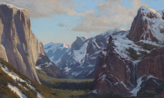 Yosemite Valley 12 x 20 -  $5,000