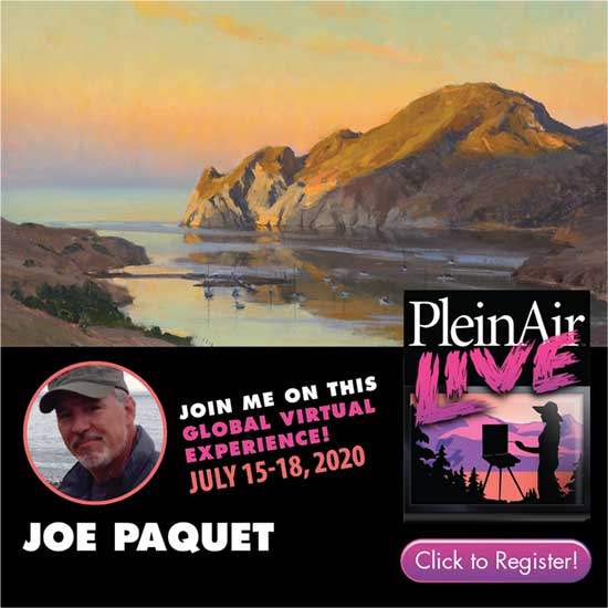 International Faculty of Plein Air Live: A Global Virtual Experience